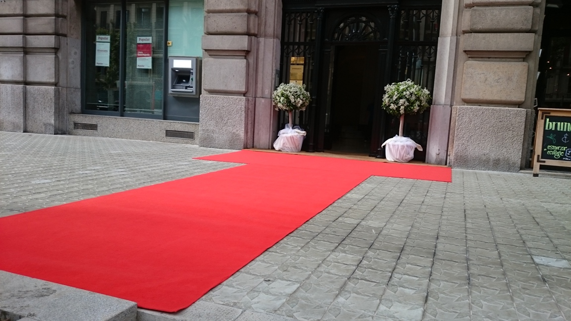 Boda en barcelona alfombras barcelona - Alfombras forghani barcelona ...