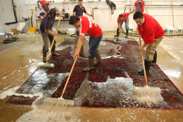 C mo limpiar una alfombra alfombras barcelona - Como lavar alfombras ...