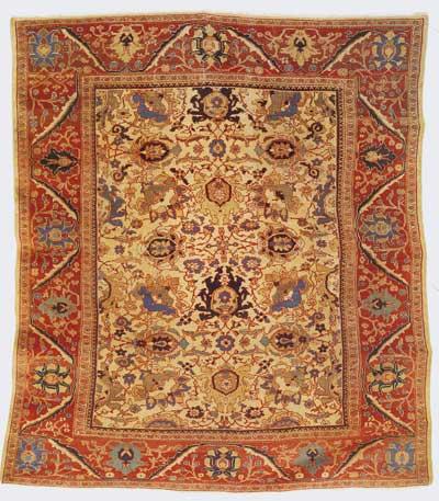 T cnica e historia alfombras barcelona for Alfombras persas historia
