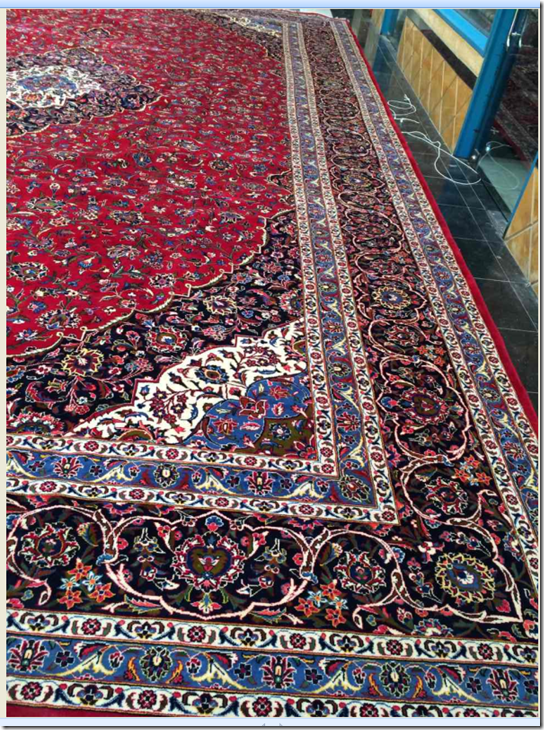 Alfombra Irán Kashán / Ref:  EX/NF1