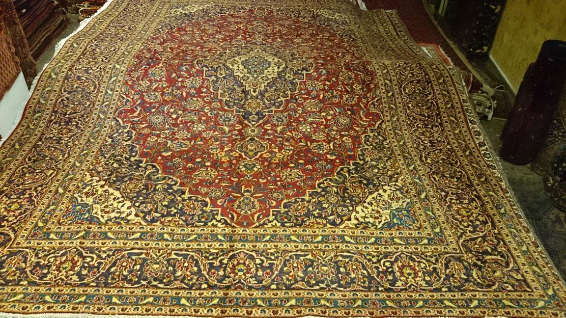 Alfombra Irán Kashan / Ref:  Z - 79