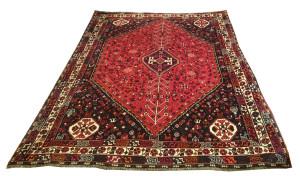 Alfombra Shiraz Irán 307 x 215 cm Lana Ref:  E - 761