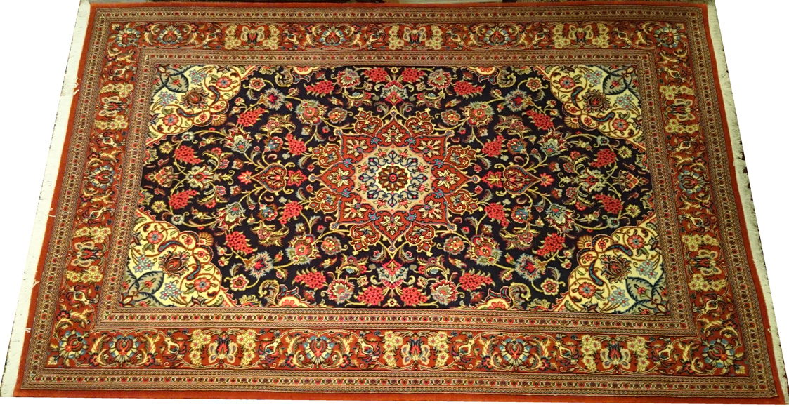 Alfombra Iran Ghom / Ref: L - 136