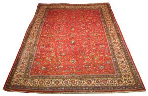 Alfombra Irán Sarough 350 x 260 cm Lana Ref:  H - 249