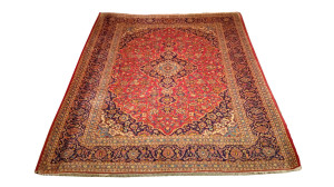 Alfombra Irán Kashán 330 x 268 cm Lana Ref:  L - 420