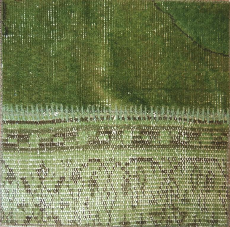 17 green - Alfombras Vintage