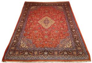 Alfombra Irán Sarough 368 x 257 cm Lana Ref:  K - 113