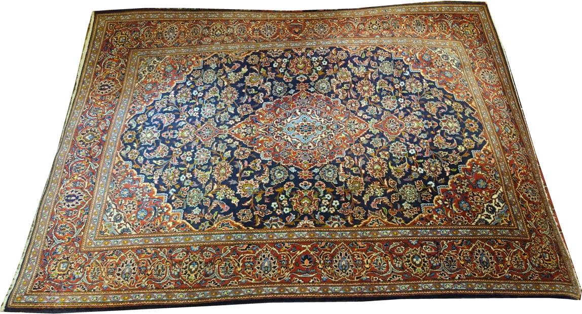 Alfombra Iran Kashan / Ref: E - 687