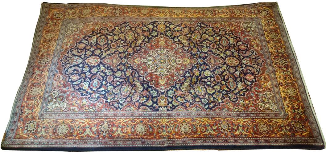 Alfombra Iran Kashan / Ref: J - 143