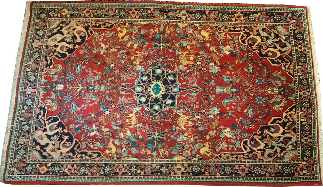 Alfombra Iran Seneh / Ref: I - 382