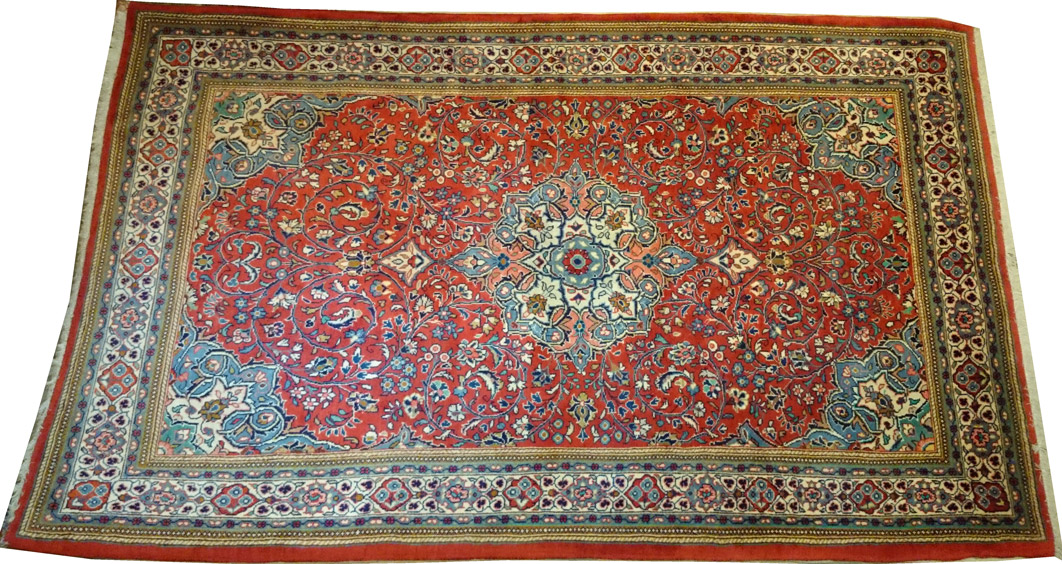 Alfombra Iran Sarough / Ref: E - 613