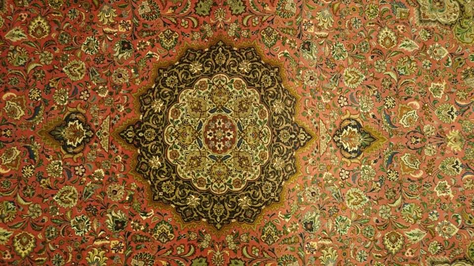 Alfombra Irán Tabriz / Ref:  M - 111