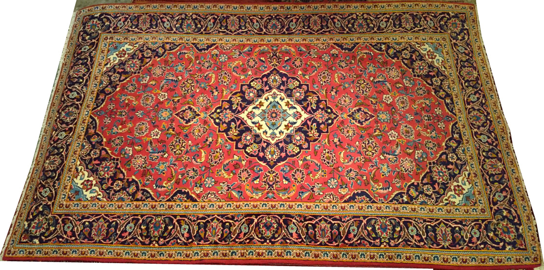 Alfombra Iran Kashan / Ref: H - 914