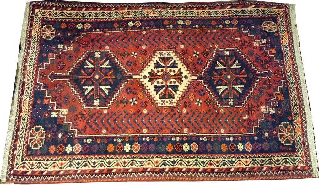 Alfombra Shiraz Irán / Ref: H - 528