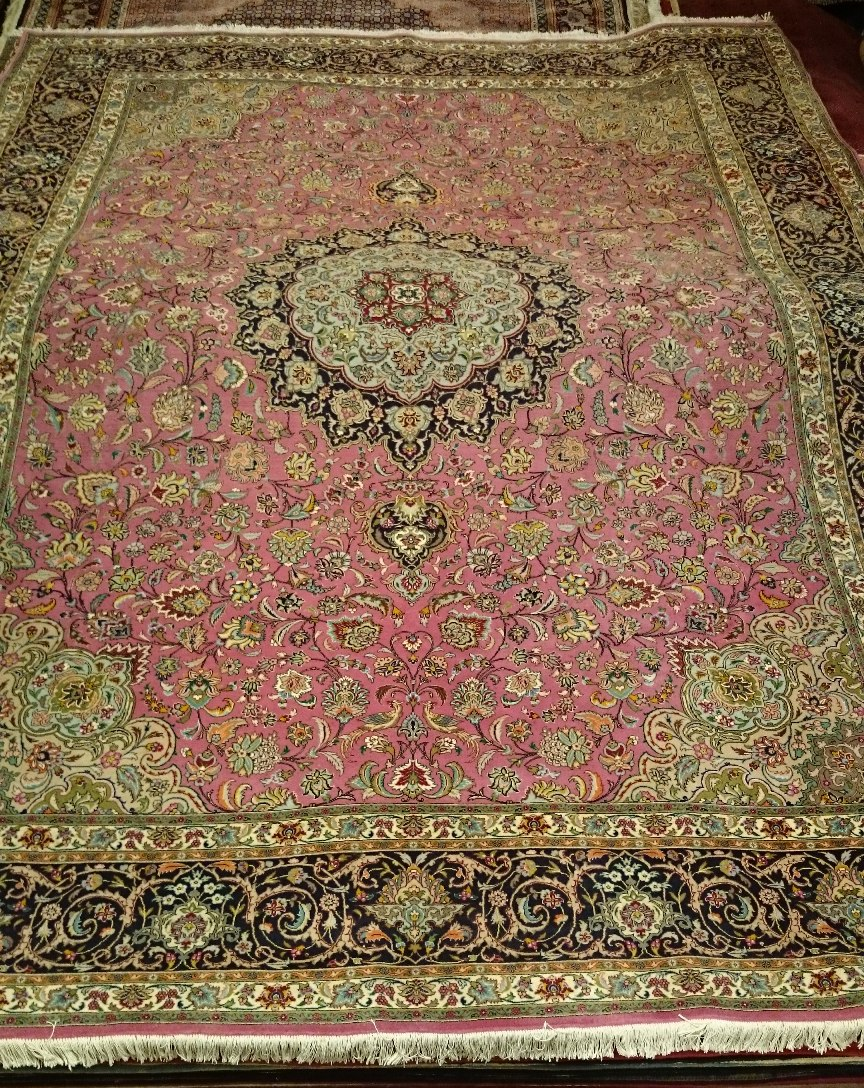 Alfombra Irán Tabriz / Ref:  M - 110