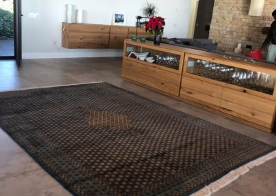 Alfombra Ghom de lana ya colocada (1)