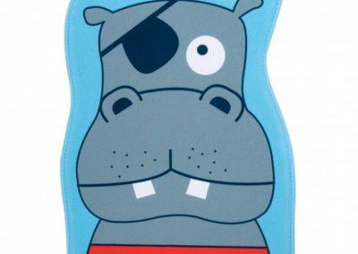 Alfombra infantil hipopotamo