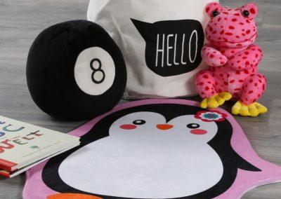 Alfombra infantil pingüino