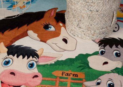 Alfombra infantil infantil animales
