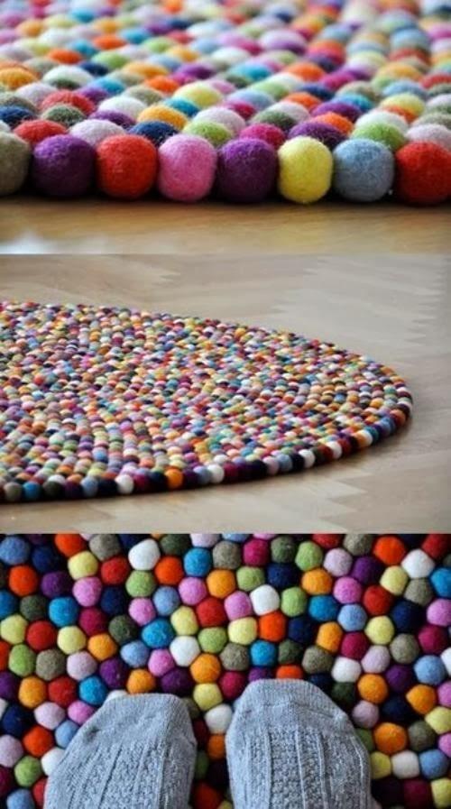 Alfombras de bolas