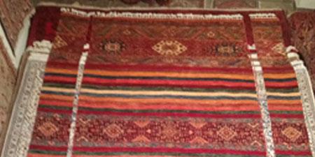 Estrechar una alfombra manteniendo la simetría y el orillo o borde original