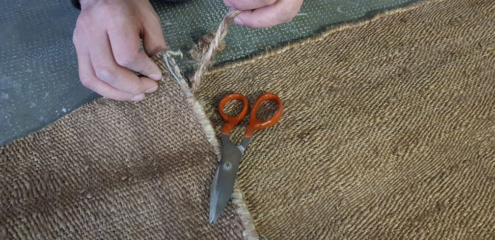 Sacado de festón y elección de lana