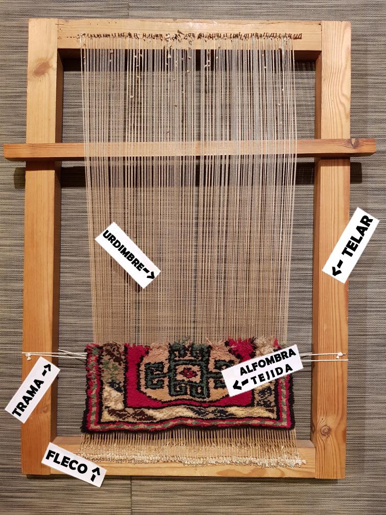 Estructura de una alfombra