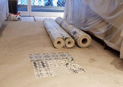 Instalación de alfombra vinílica (1)