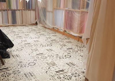 Instalación de alfombra vinílica (13)