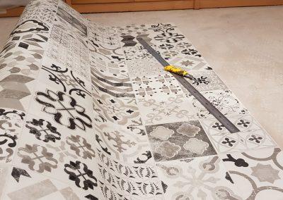 Instalación de alfombra vinílica (3)