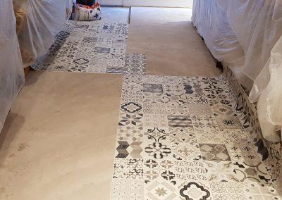 Instalación de alfombra vinílica (4)