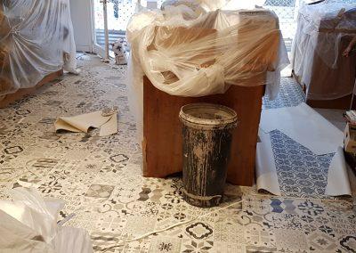Instalación de alfombra vinílica (9)