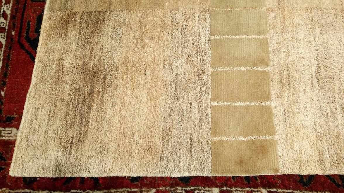 Restauración alfombra Moho después