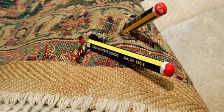 Restauración de agujeros en alfombra