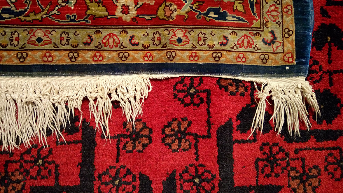 Alfombra barcelona alfombra tricolor grande restauracin flecos de alfombra alfombras clsicas - Alfombras forghani barcelona ...