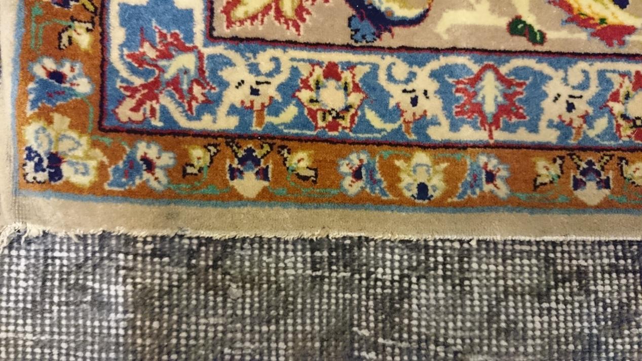 Restauraci n de flecos alfombras barcelona - Alfombras persas barcelona ...