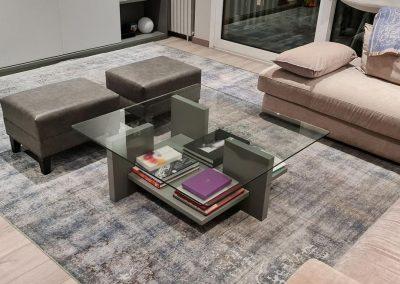 alfombra Vintage colocadas