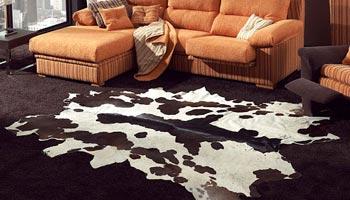 alfombras de piel entera