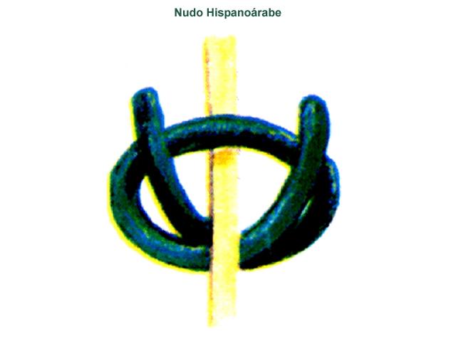 Nudo de alfombra estilo Hispano - Árabe