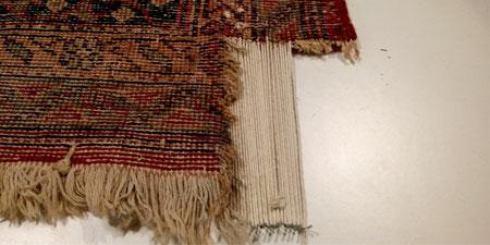 Reconstrucción parte perdida de una alfombra