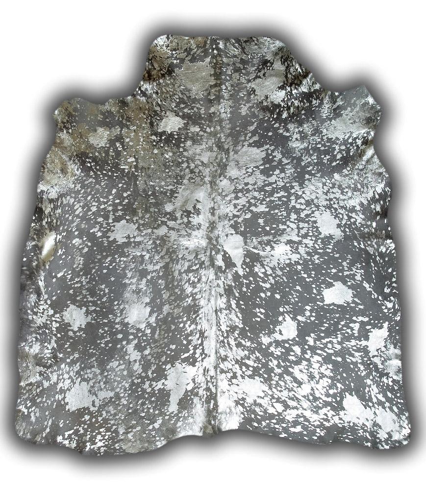 Toro gris oscuro acido plata